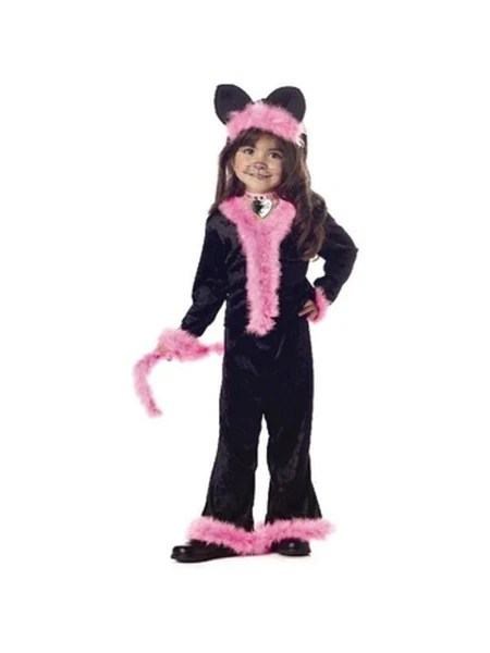 Toddler Pretty Pink Kitty Cat Costume Costumeish Cheap