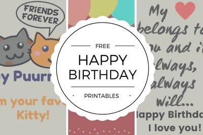 Free Happy Birthday Cards Printables Quan Jewelry