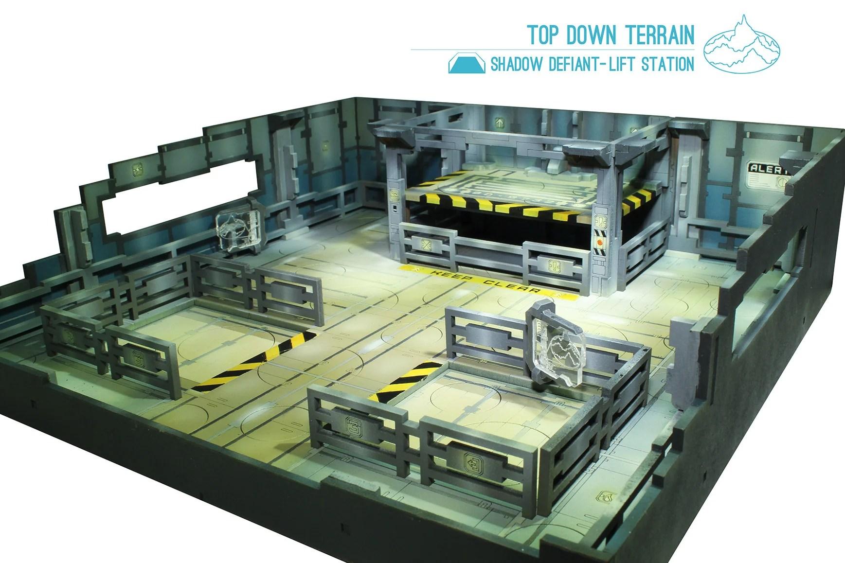 Top Down Display Trays