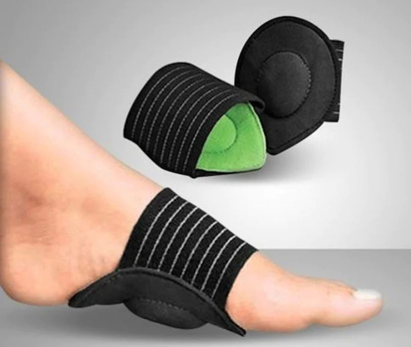 Arch supports for flat feet
