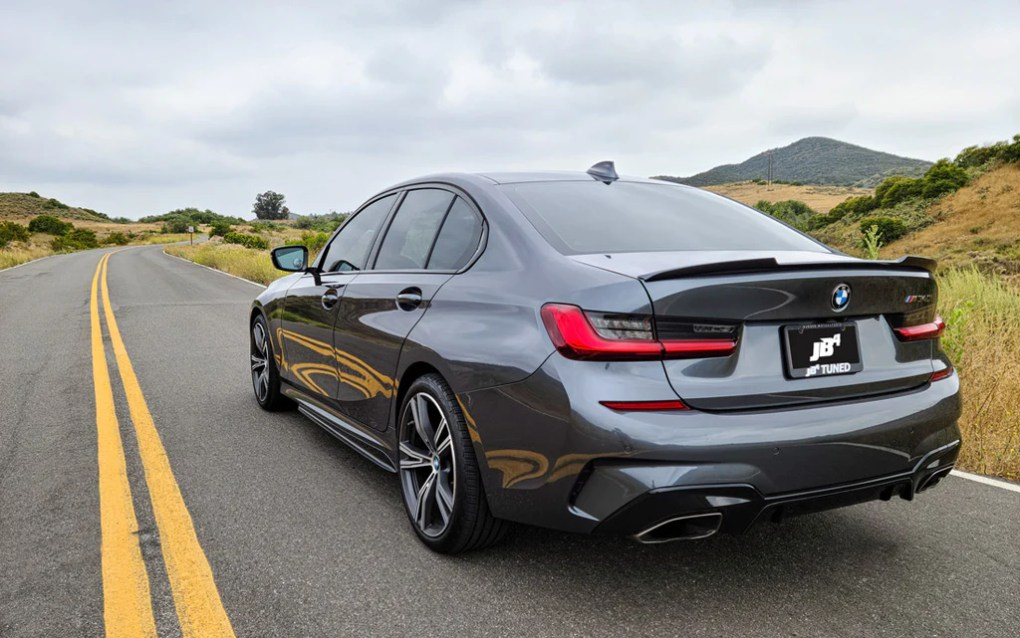 BMW M340i tune 0-60 engine horsepower B58 lease price