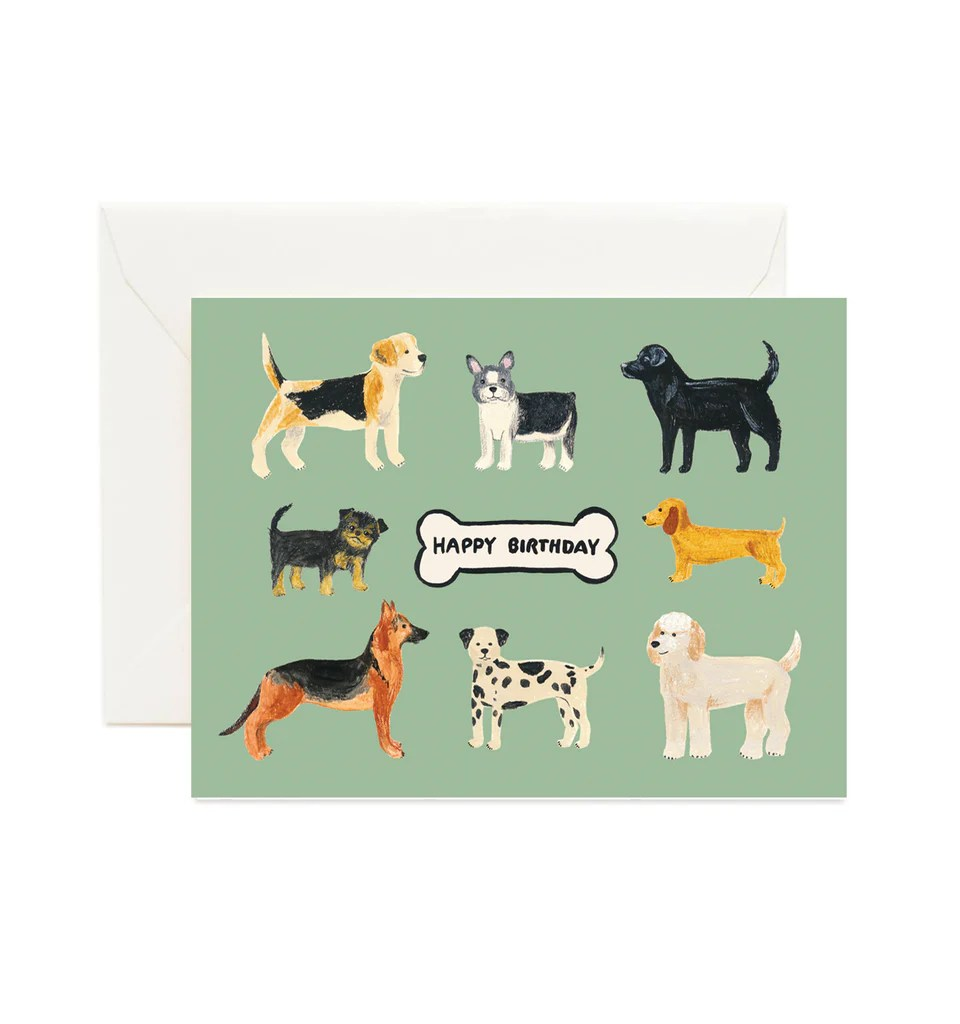 Birthday Dogs Forage Paper Co