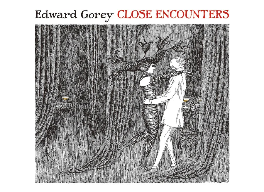 Edward Gorey Close Encounters Notecards The Readers