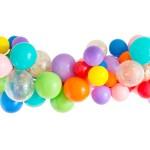 Rainbow Balloon Garland Studio Pep
