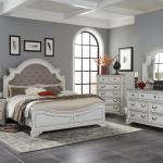 Antique White Oak King Bedroom Set My Furniture Place