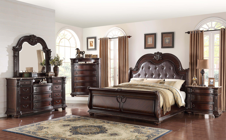 Crown Mark Stanley Queen Bedroom Set My Furniture Place