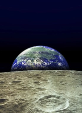 Image result for earth rising