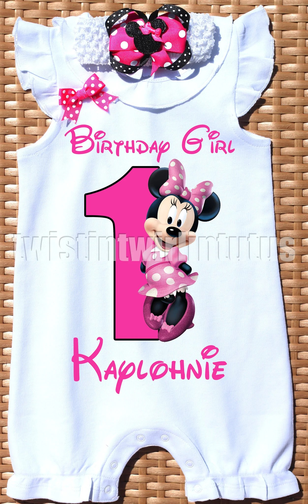 Minnie Mouse First Birthday Outfits Cheap Online