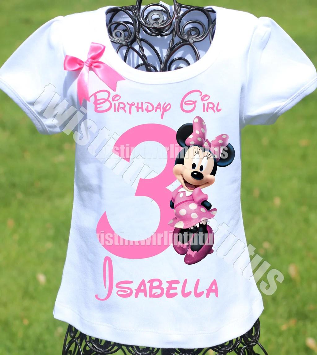 Minnie Mouse Birthday Shirt Twistin Twirlin Tutus