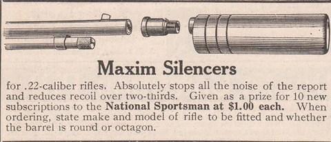 MAXIM SILENCER AD 1906
