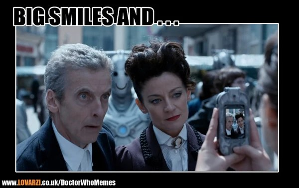 Doctor Who Clara Oswald Jenna Coleman And Strax Image 4775038