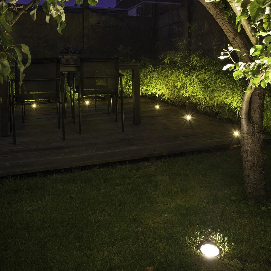 in lite nero 12v led low voltage outdoor decking lights ip67