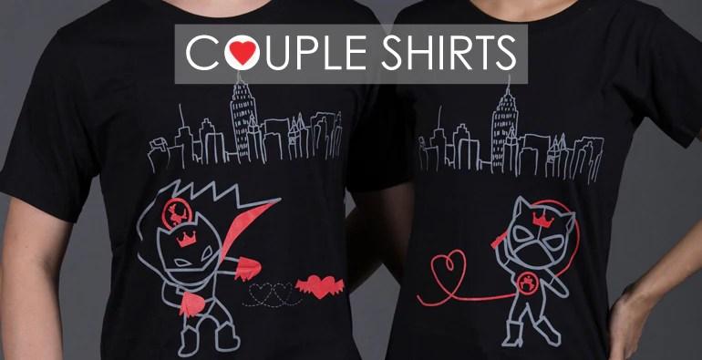 BoldLoft Love A Lot Couple ShirtsMatching Couples Shirts