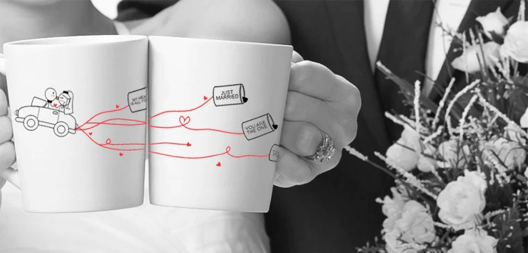 Wedding Gifts For Bride And Groom,His And Hers Wedding