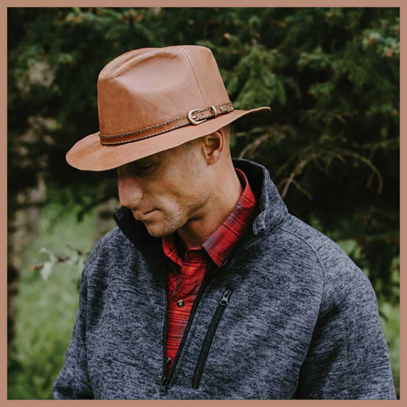 Leather Hats Men And Women Leather Hat Styles Setartrading Hats