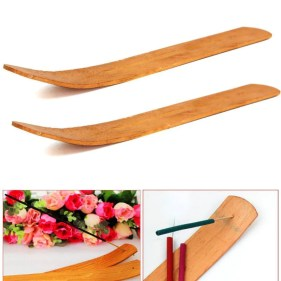 Natural Wooden Incense Stick Burner (3pcs)IncenseDefault Title