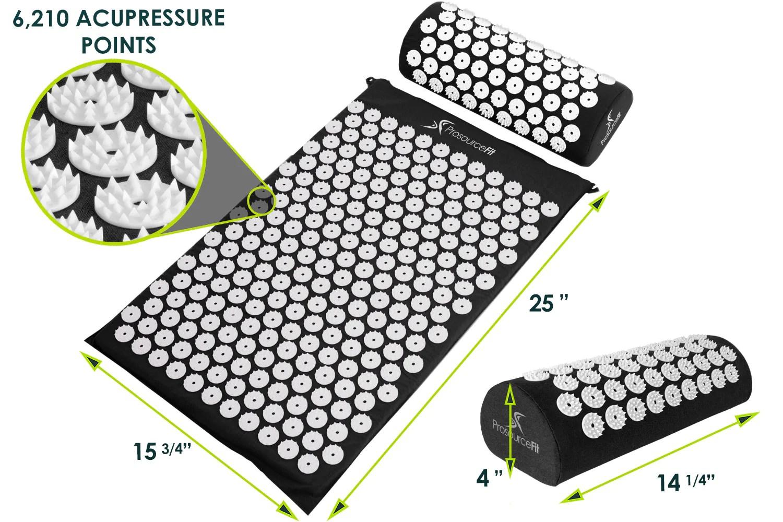 acupressure mat and pillow set