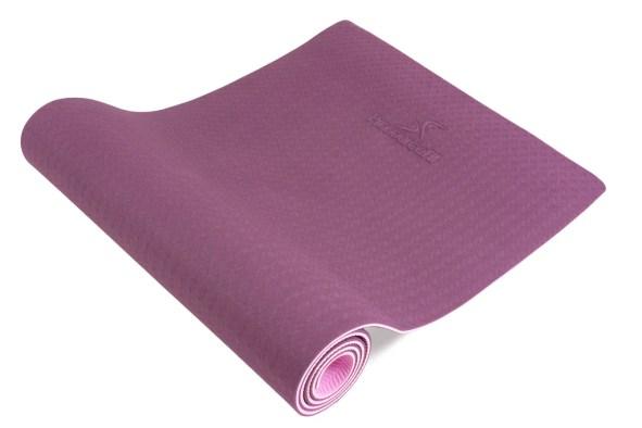 "Natura TPE Yoga Mat 1/4"" Purple-Pink"