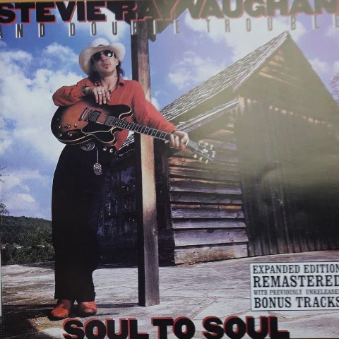 stevie ray vaughan promo poster srv soul to soul