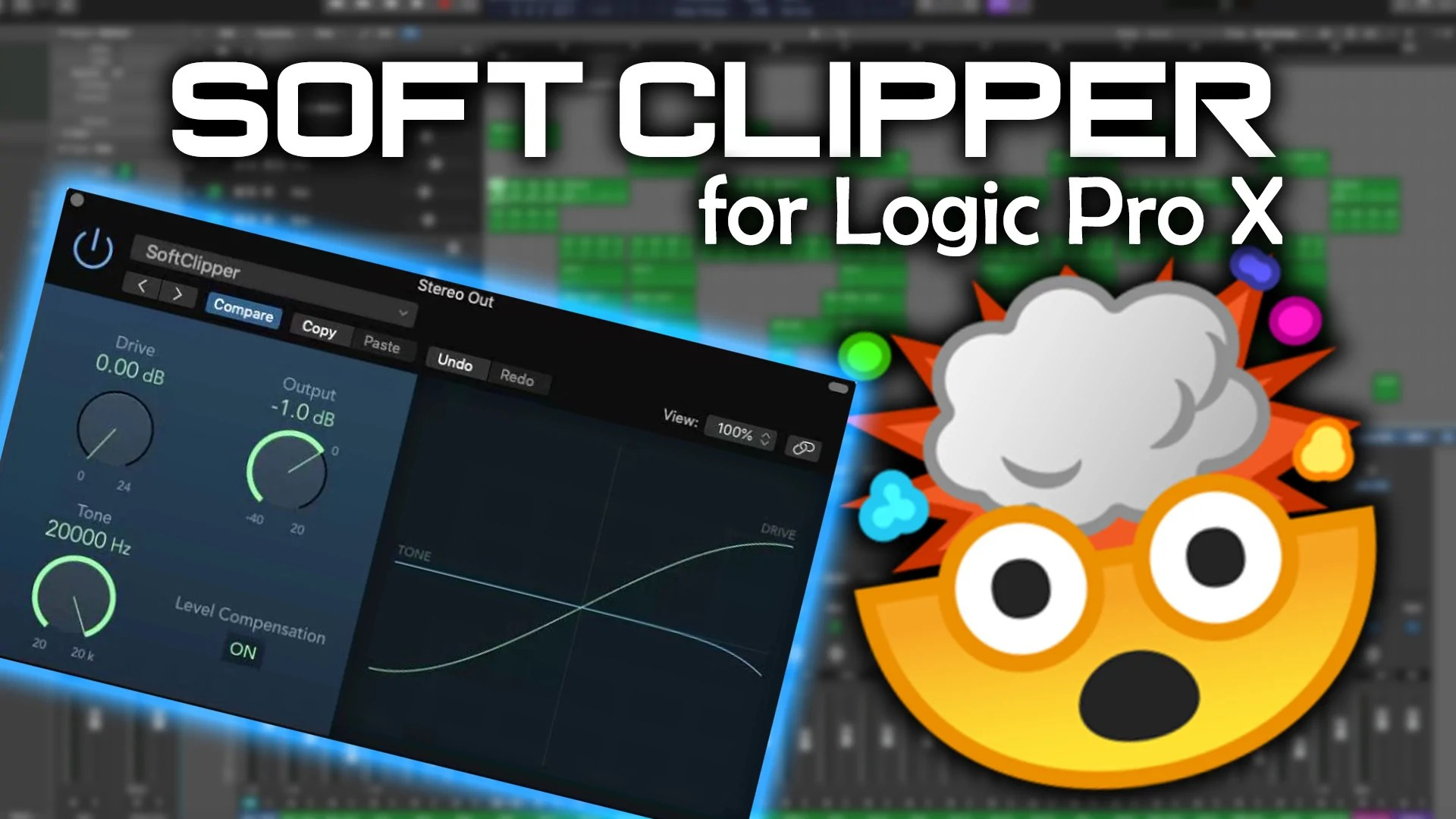 Soft Clipper For Logic Pro X Mixing Template