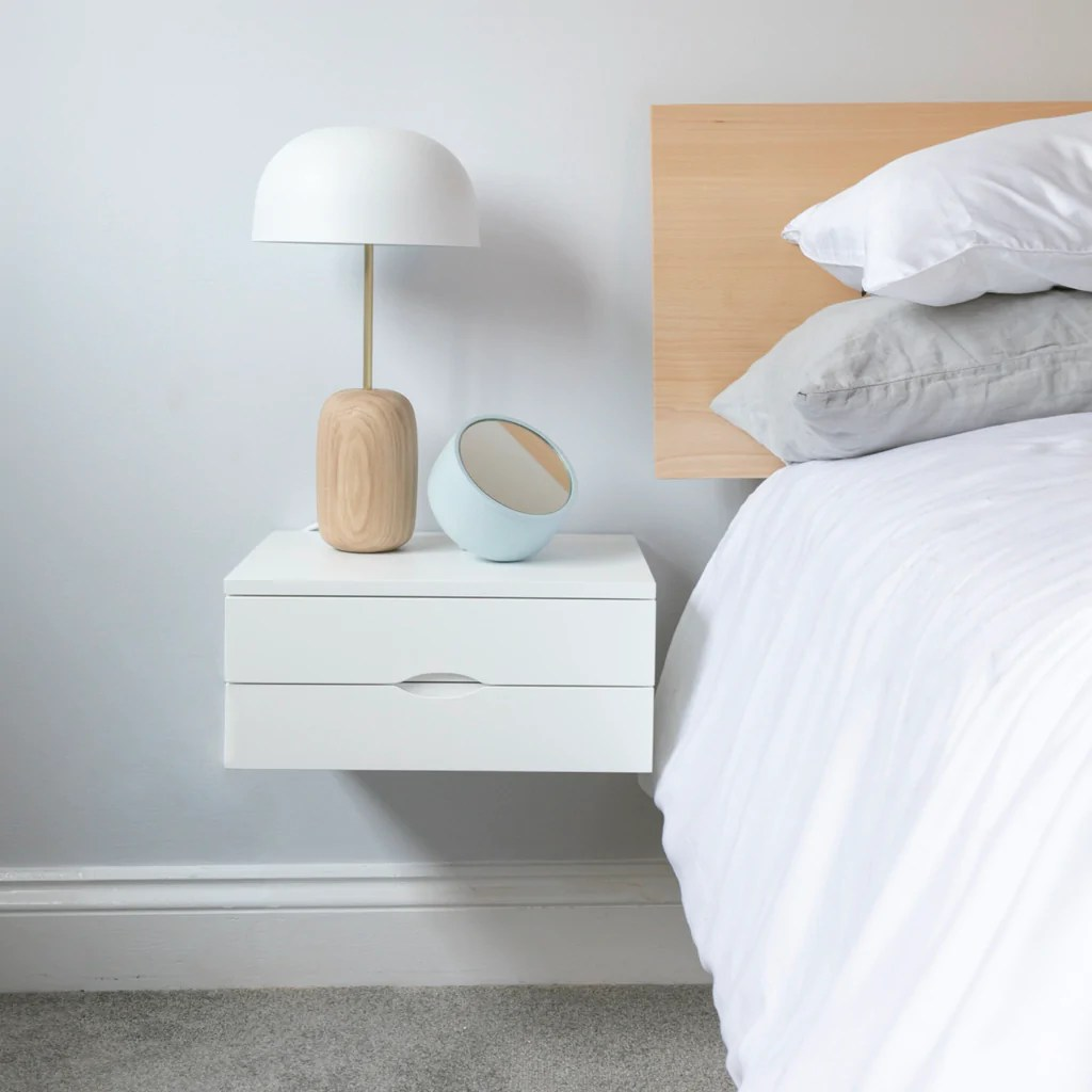 Bedside Table Ideas For Tiny Bedrooms Urbansize