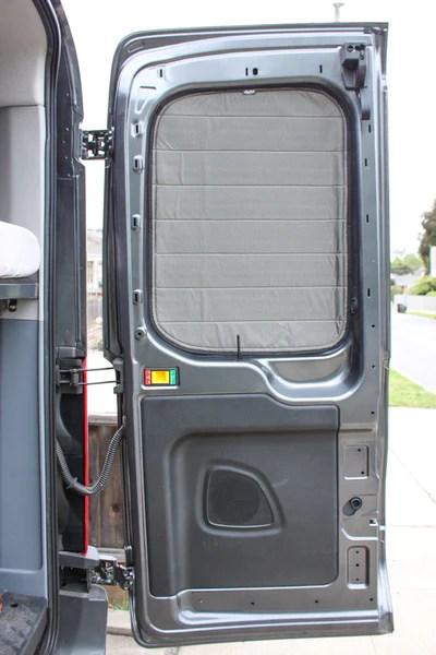 Insulated Window Covers Sprinter And Transit Strawfoot Handmade
