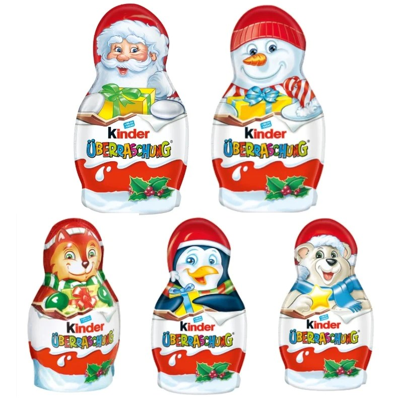 Kinder Surprise Christmas Figures – Chocolate & More Delights