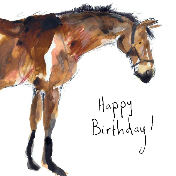 Hello Horse Happy Birthday Card By Catherine Rayner Paper Tiger