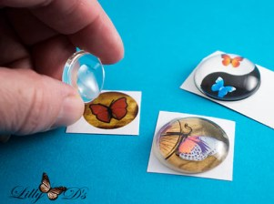 glass cab pendant tutorial easy craft idea