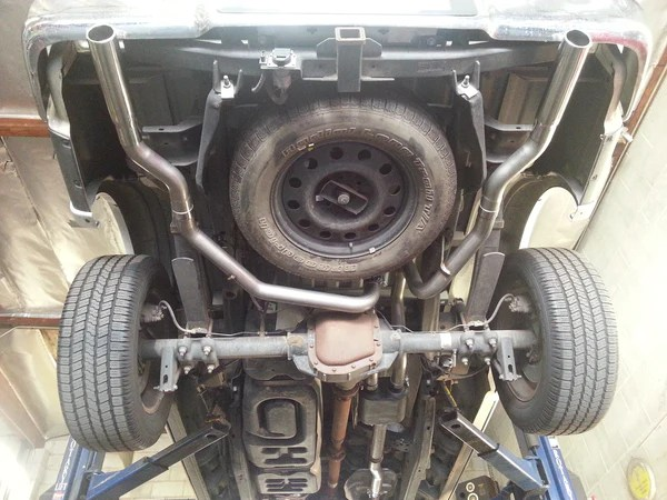 2009 14 ford f 150 v8 v6 engine legato cat back exhaust kit