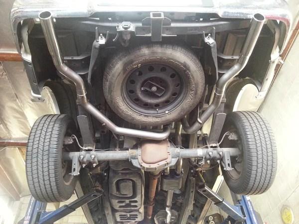 2004 08 ford f 150 v8 legato cat back exhaust kit