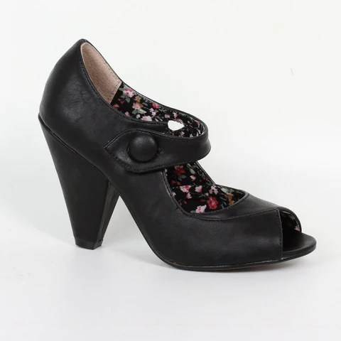 Vintage Style Shoes 50s Inspired Styles Pretty Kitty