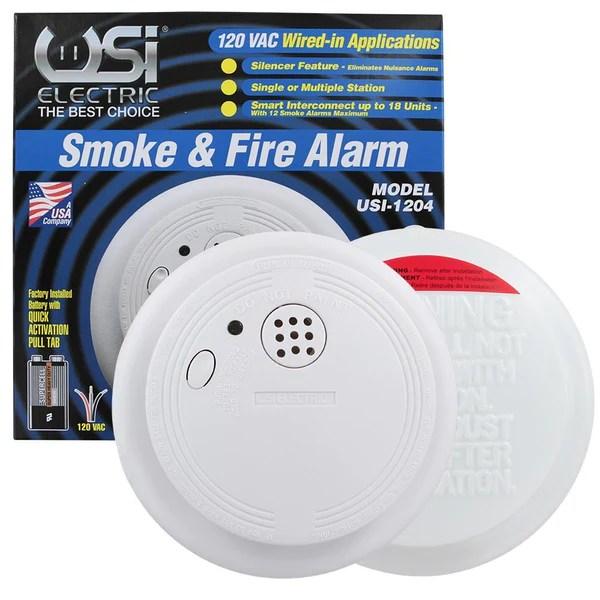 USI Electric Smoke Detector, Interconnected Smoke Alarms