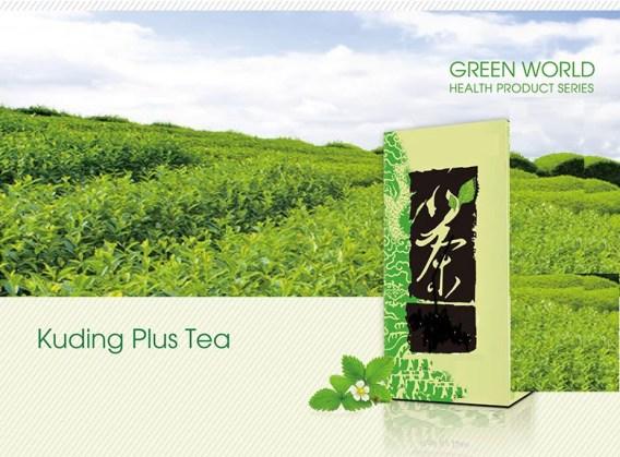 Kuding Plus Tea From Green World Best Chinese Herbal Tea