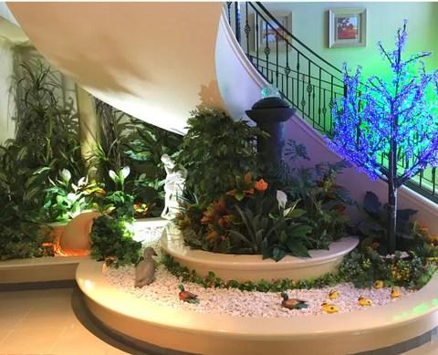 Home Interior Design And Artificial Plants Installation