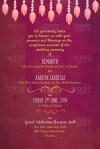 Illustrated Marathi Maharashtrain Wedding Invitation Sporg Stores - Wedding Invitation Card, Simple Classic Wedding Invitation Card Template Vector Image
