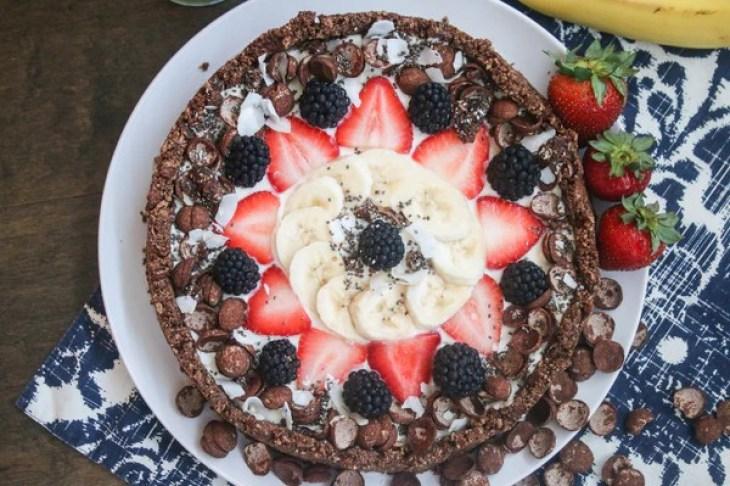 cocoa clusters recipe fruit tart yogurt dessert