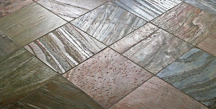copper slate gauged slate tile