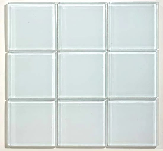 gt white glass 4x4 mosaic may qualify for free shipping sognare tile stone sognare kitchen bath