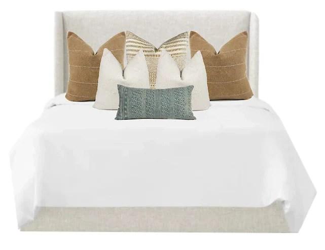 malibu king bed combo 6 pillow covers