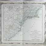 1785 Brion Map Of East Coast Of United States Chadbourne Antiques Collectibles