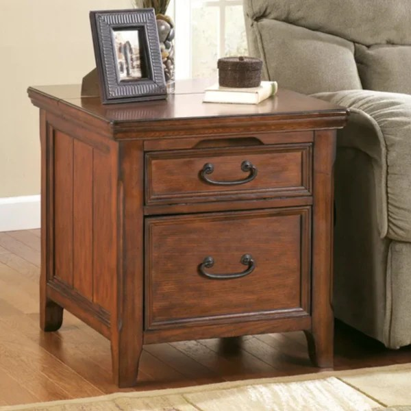 Media End Table Cardis Furniture Amp Mattresses