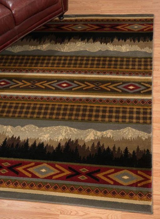 cabin rugs and rustic area rugs the