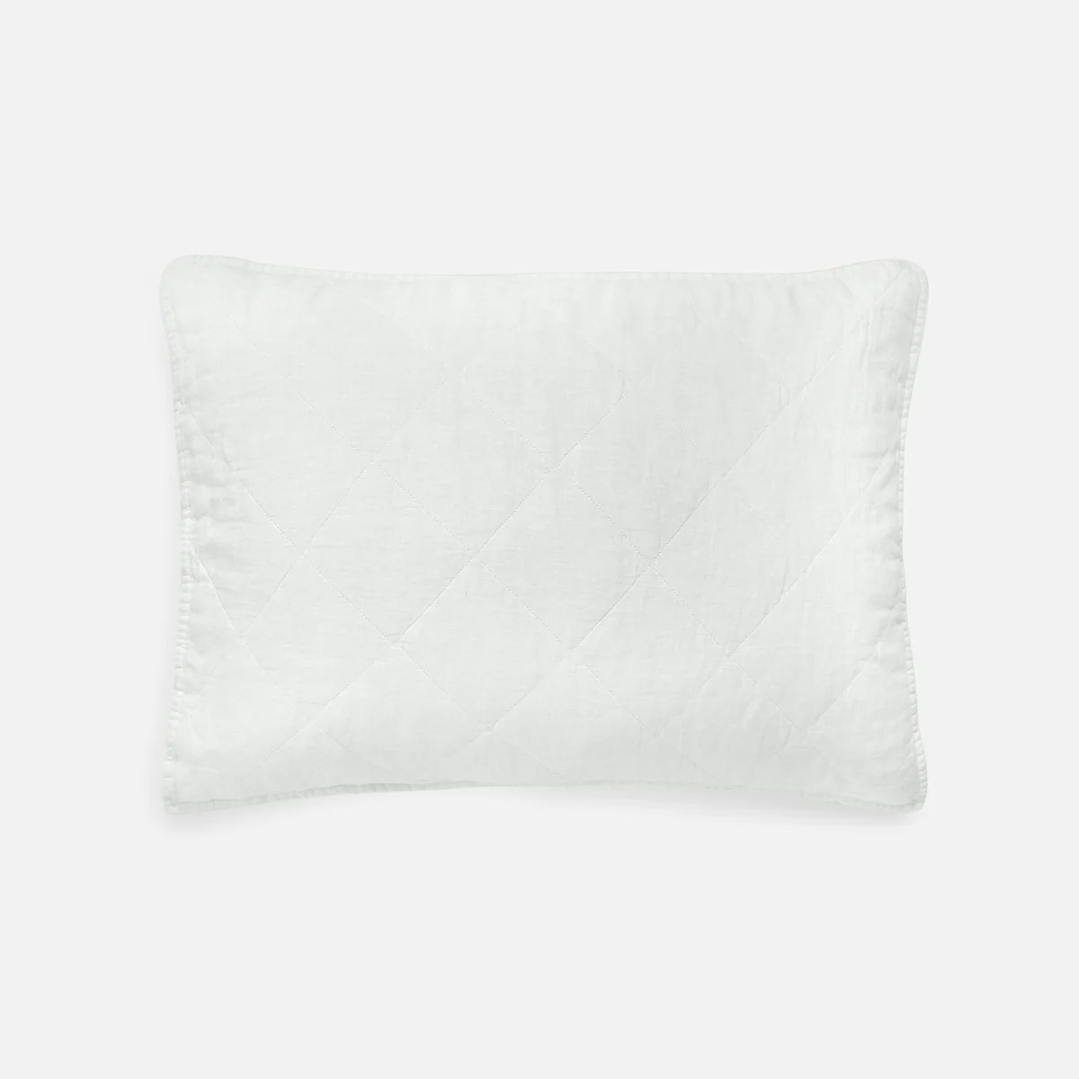 linen quilted shams