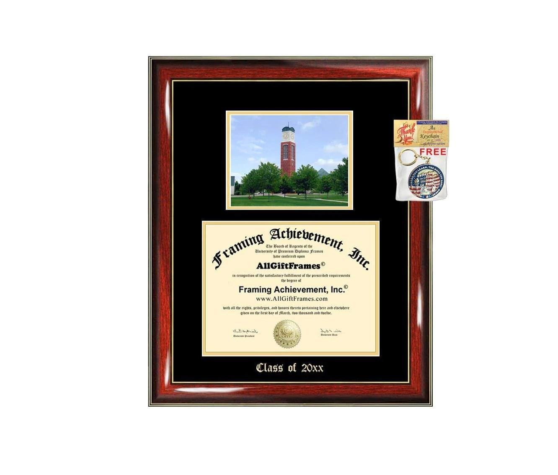 Diploma Frame Big Gvsu Grand Valley State University Graduation Gift Case Embossed Picture Frames Engraving Certificate Holder Graduate Bachelor