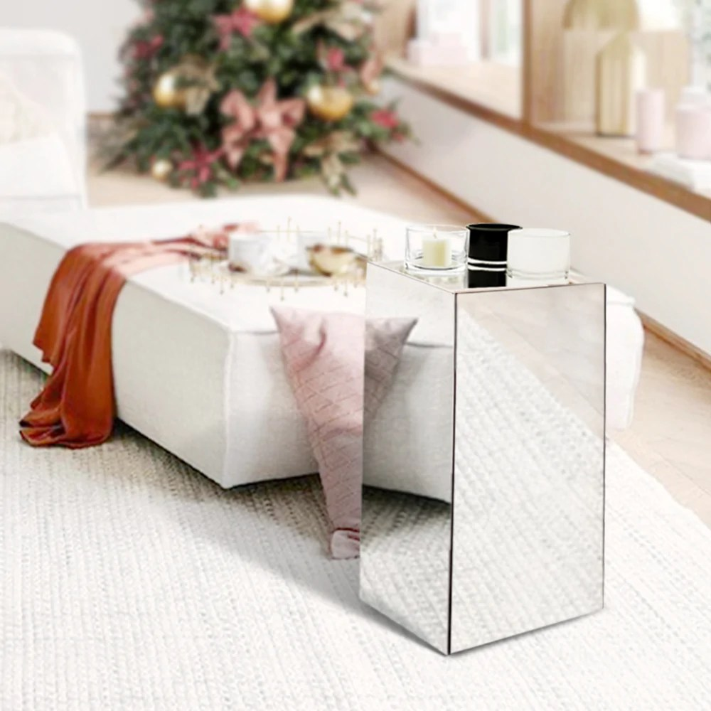 mirror block column pedestal