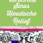 Essential Oils For Sinus Headache Relief Roller Bottle Recipe