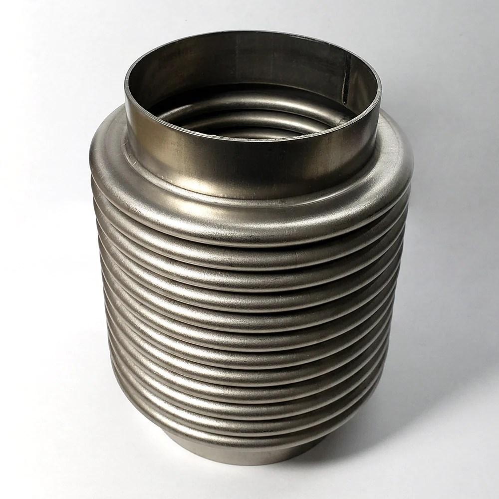 3 titanium bellow