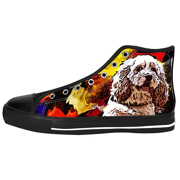 american cocker spaniel shoes sneakers custom american