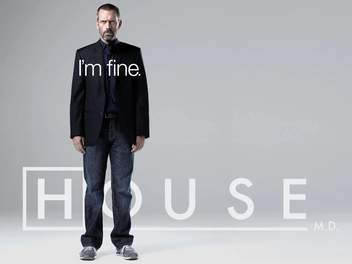 i am fine house md life size posters